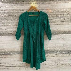 Green Kurta Size XS
